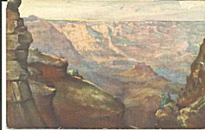 Grand Canyon National Park AZ postcard p36278 (Image1)