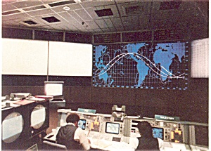 NASA STS-7 Mission Control  Postcard p3628 (Image1)