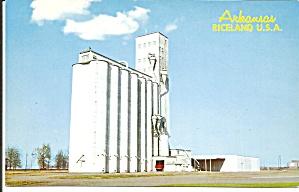 Arkansas Riceland USA Rice Dryer postcard p36290 (Image1)