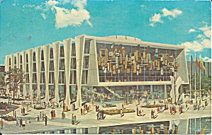 Ny World S Fair Education Bldg 1964 Postcard P36314
