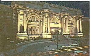 New York City Metropolitan Museum of Art postcard p36316 (Image1)