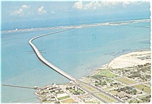 Laguna Madre Texas  Postcard p3631 (Image1)