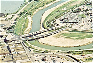 Rio Grande River Texas  Postcard p3632 (Image1)