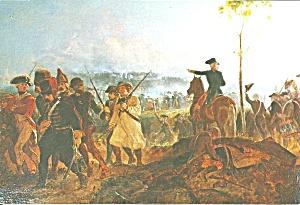 Battle Bennington postcard of painting Alonzo Chappel p36335 (Image1)