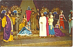 Black Hills Passion Play Jesus before Herod p36338 (Image1)