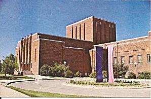 Iowa City IA U of IA Theatre Postcard p36356 (Image1)