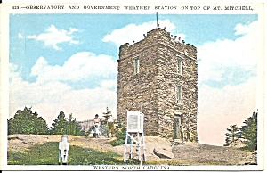 Mt Mitchell NC Weather Station Observatory p36360 (Image1)