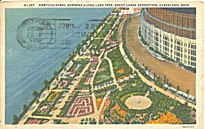 Cleveland OH Horticultural Gardens 1937  p36385 (Image1)
