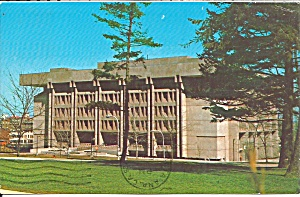 Syracuse University Ernest Bird Library Postcard P36397