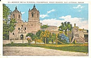 San Antonia TX Mission De La Purisima Conception p36414 (Image1)