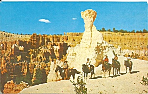Bryce Canyon National Park Ut Horse Riders P36416