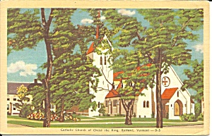Rutland VT Catholic Church Christ the King p36437 (Image1)