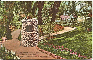 South Pasadena CA Fountain Cawston Ostrich Farm p36440 (Image1)