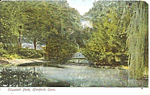 Hartford CT Elizabeth Park postcard p36444 (Image1)