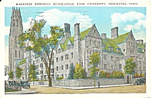 New Haven Ct Yale U Harkness Quadrangle 1928 P36479