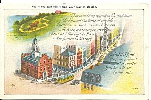 Boston MA  Finding your way around p36485 (Image1)
