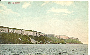 New York Hudson River Palisades Postcard P36486