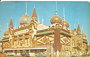 Mitchell Sd Corn Palace 1954 Postcard P36501