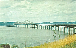 New York Thruway Tappen Zee Bridge Postcard P36517