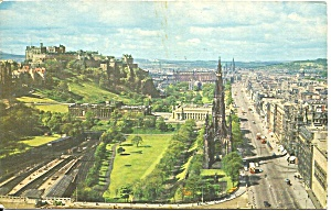 Edinburgh Castle Scotland postcard p36524 (Image1)