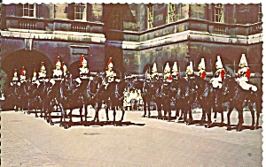 London England Horse Parade Changing Of Guard P36531