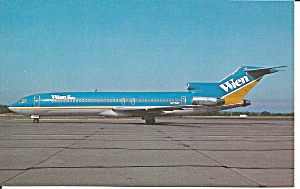 Wien Air Alaska 727-277 N275wc Postcard P36541