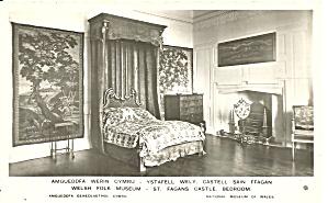 St Fagans Castle Wales UK Bedroom p36558 (Image1)