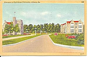 Atlanta GA Entrance to Oglothorpe University p36563 (Image1)