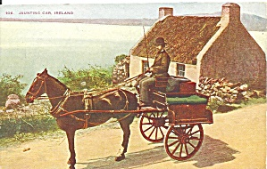 Jaunting Car Ireland Postcard P36584