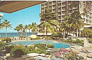 San Juan Puerto Rico Sheraton postcard p36638 (Image1)
