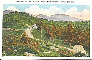 Western Nc Mt Mitchell Motor Road P36657