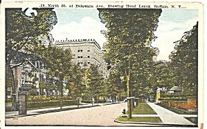 Buffalo NY North and Delaware Ave Hotel Lenox  p36659 (Image1)