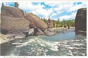 Spokane River Washington  Postcard p3665 (Image1)