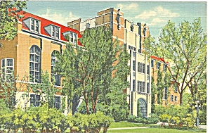 U Of Michigan Michigan League Bldg Postcard P36679