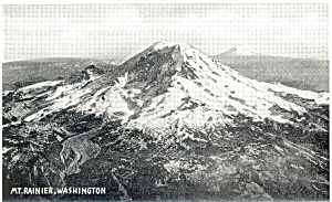 Mt Rainier Washington  Postcard (Image1)