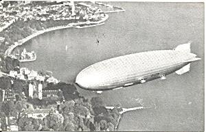Souvenir postcard of rigid airship Graf Zepplin II p36718 (Image1)