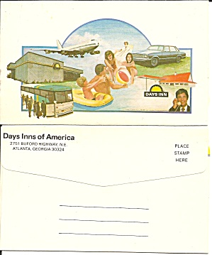 Days Inns of America Postcard P36732 (Image1)
