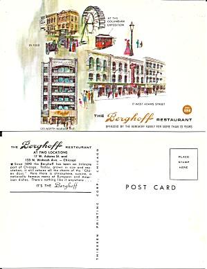 Berghoff Restaurant Chicago IL Postcard P36734 (Image1)