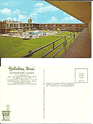 Rockford IL Holiday Inn US 51 Postcard P36737 (Image1)