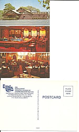 Clare Toby s Inn Restaurant Old Bridge NJ Postcard P36740 (Image1)