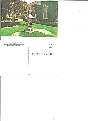 New York Columbia U Harriman Arden House Pagoda Postcard P36744 (Image1)
