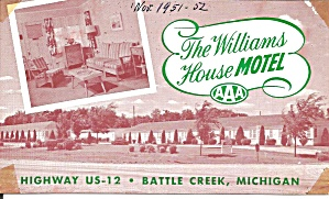 Battle Creek MI Williams House Motel p36789 (Image1)