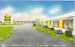 Perry FL Bambi Motel p36774 (Image1)