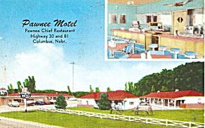 Columbus NE Pawnee Motel p36777 (Image1)