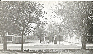 Lebanon Tennessee El Tricia Motel p36780 (Image1)