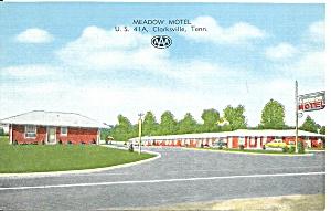 Clarksville TN Meadow Motel p36785 (Image1)