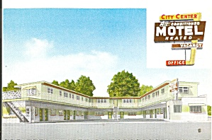 Mauston Wi Laural City Center Motel P36795