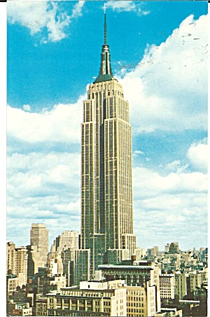 New York City NY Empire State Building  p36821 (Image1)