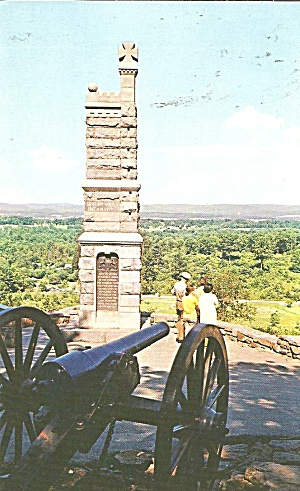 Gettysburg Pa Battlefield From Little Roundtop P36830