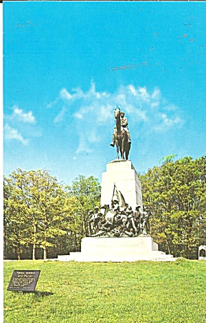 Gettysburg PA Virginia State Monument p36833 (Image1)